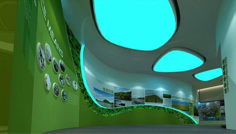 兰州智慧生态展厅设计施工