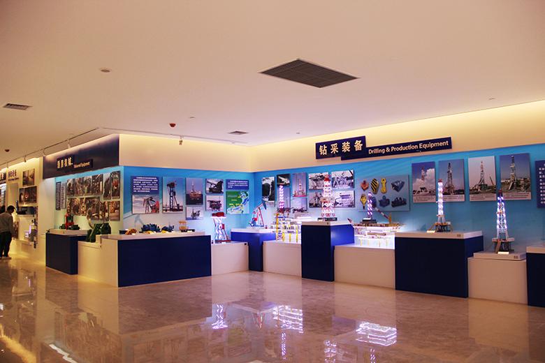 兰石集团展览馆施工案例