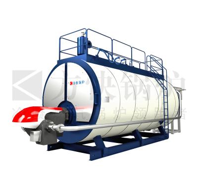 低氮FGR燃氣熱水鍋爐分體式