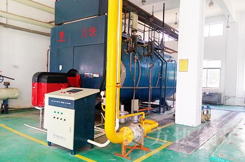 海南葫芦娃制药燃气蒸汽锅炉案例