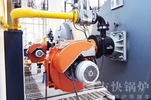 河南焦作体育馆燃油气热水锅炉案例