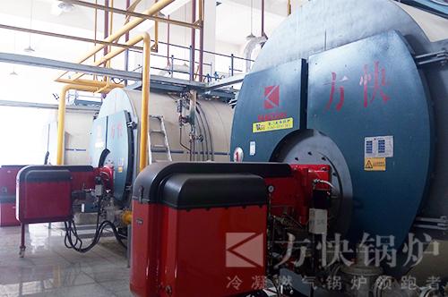 河南蒙牛食品加工燃气蒸汽锅炉案例
