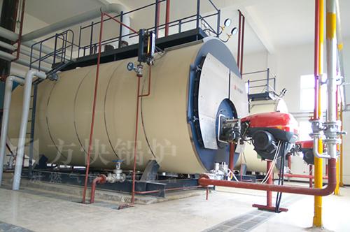 湖北襄阳电池化工行业燃气蒸汽锅炉案例