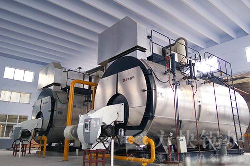 山东金正大化工燃油气蒸汽锅炉案例