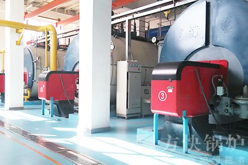 天津海河教育园小区供热热水锅炉案例