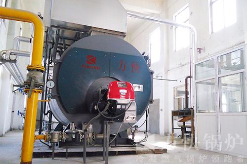 西安秦北管业加工燃气蒸汽锅炉案例