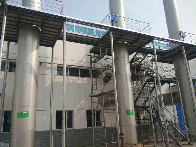 伊利集團安裝蒸汽鍋爐案例