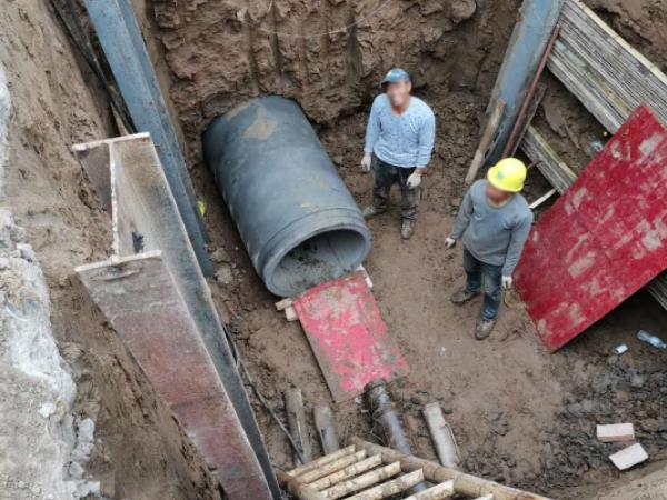 定西非开挖管道施工
