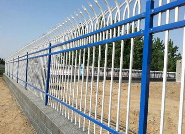 白银锌钢护栏网安装