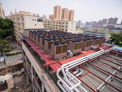 安盛大厦空气能热泵案例