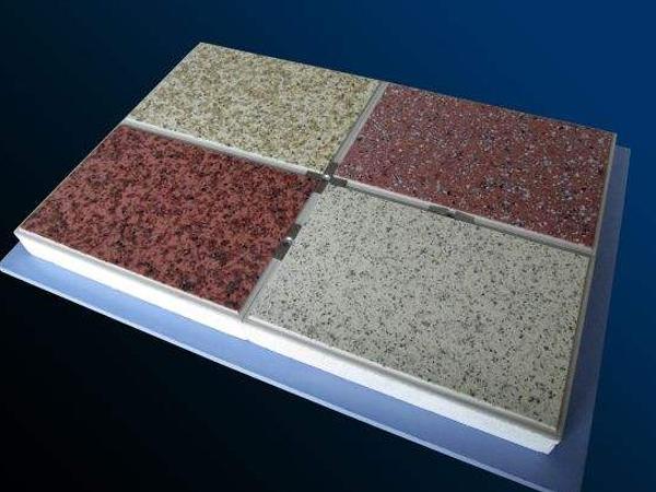 陶瓷薄片保溫裝飾一體板