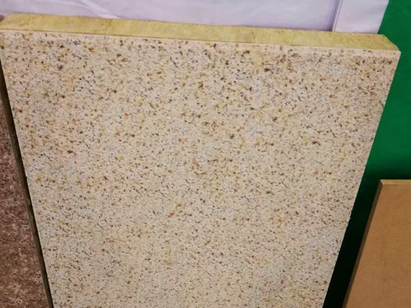 陶瓷薄片装饰保温一体板