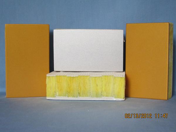 無機裝飾保溫一體板