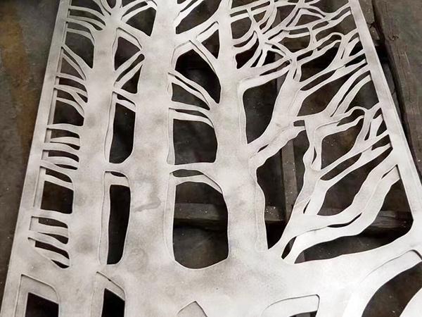 门头镂空铝单板