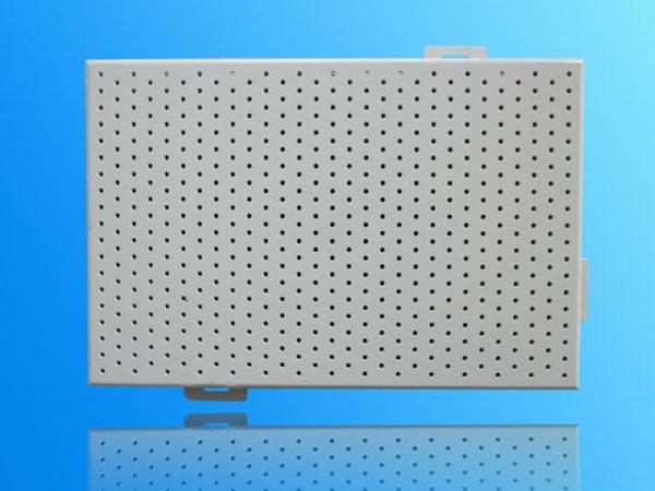 冲孔铝单板运用到幕墙的作用