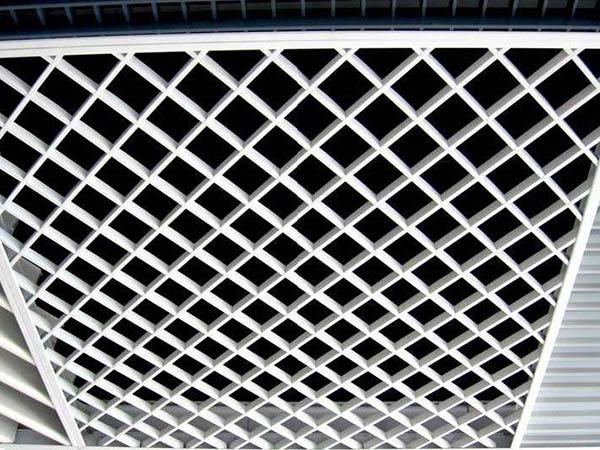 格栅铝天花吊顶材料安装