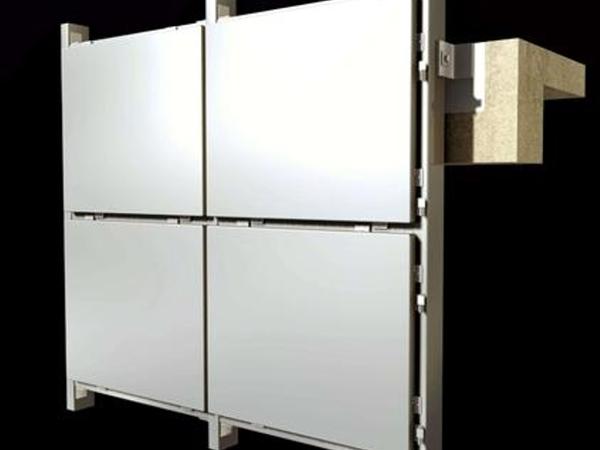 无缝铝单板安装方法
