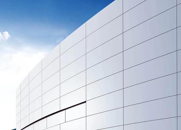 白銀外墻鋁單板