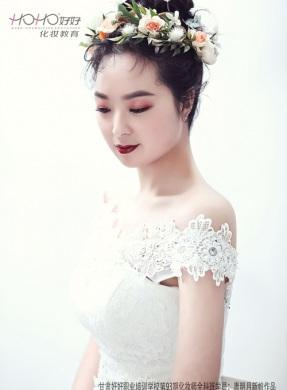 花艺新娘时尚造型