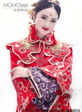 中式新娘化妆造型