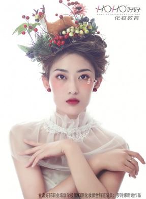 森系时尚新娘造型