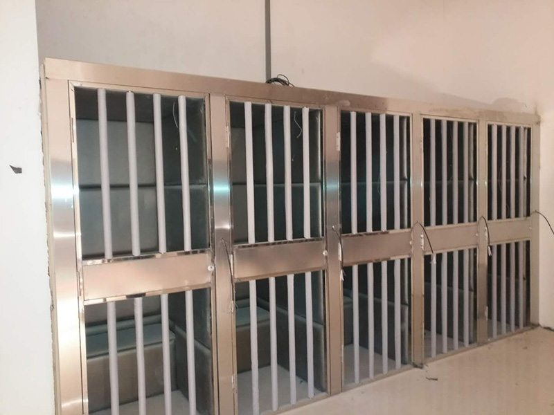 兰州新区法院不锈钢门