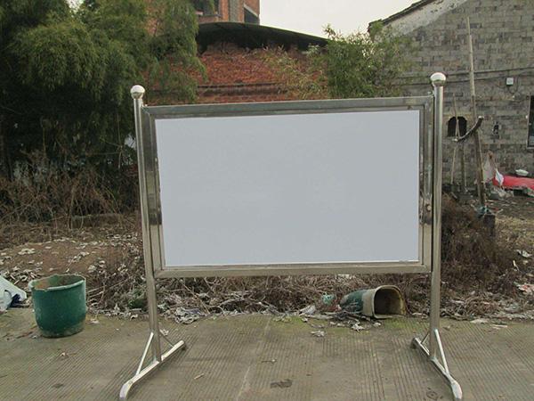 室外不锈钢广告牌