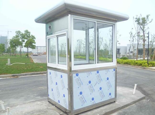 白银钢结构治安岗亭