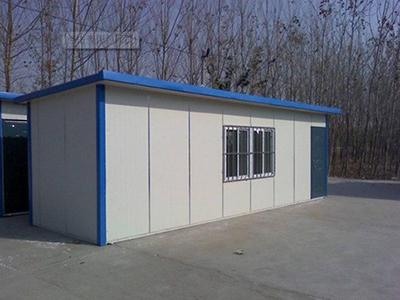 临夏集装箱活动房厂在临夏马家窑景区安装案例