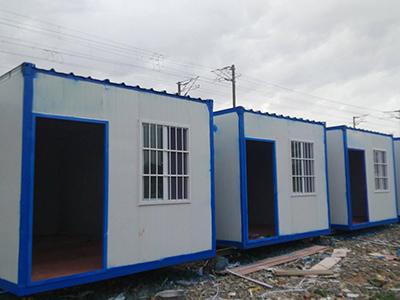 工地住人集装箱活动房