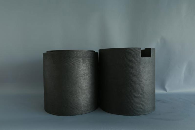 硬质复合石墨毡筒材