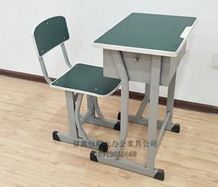 单人钢质课桌椅