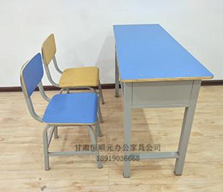 甘肅學生雙人課桌椅