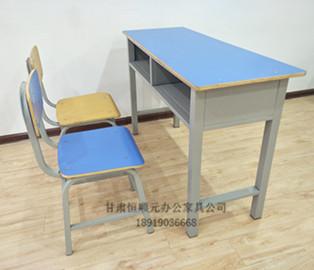 甘肅便宜小學生雙人課桌椅