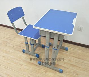 甘肃手摇升降课桌椅