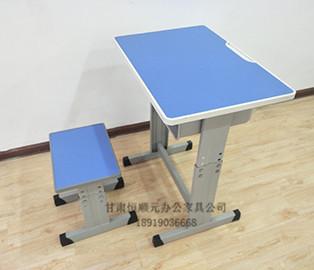 简易升降课桌椅