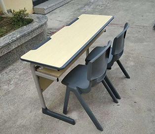 双人升降课桌椅