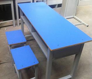 甘肃幼儿园双人课桌椅