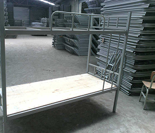 工地双层铁床