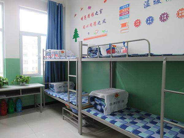 甘肃武威市古浪富民中学提供高低床配置安装