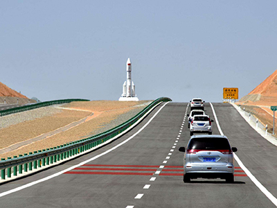 为甘肃天道元集团国道110线工程提供500吨必赢娱乐棋牌