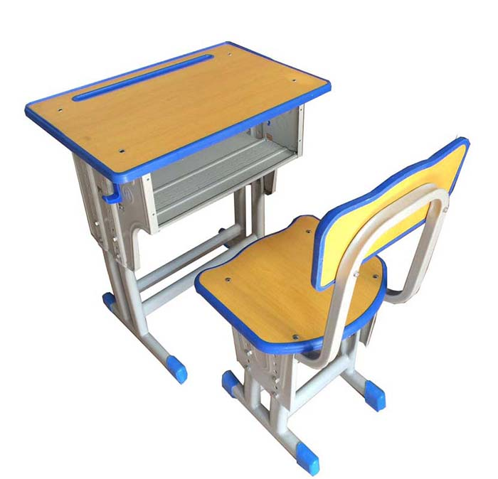 单人课桌椅2