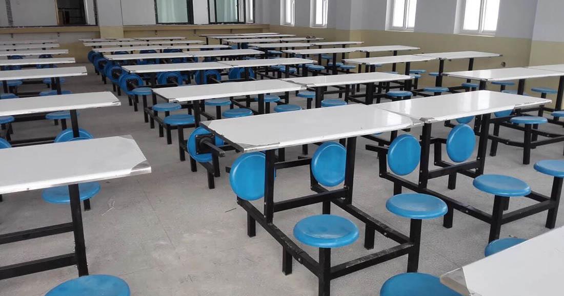 甘肃宏鑫家具的餐桌椅工程案例