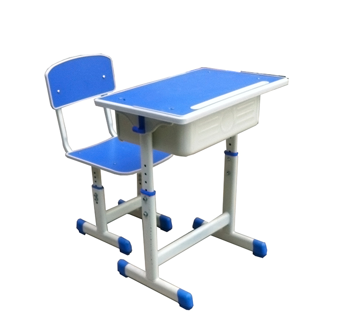 单人课桌椅型号HX-KZY-001