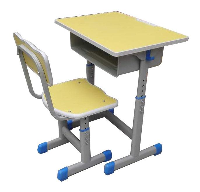 单人课桌椅型号HX-KZY-003