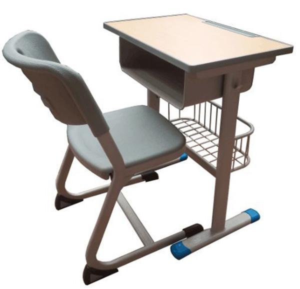 甘肅單人課桌椅定做多少錢