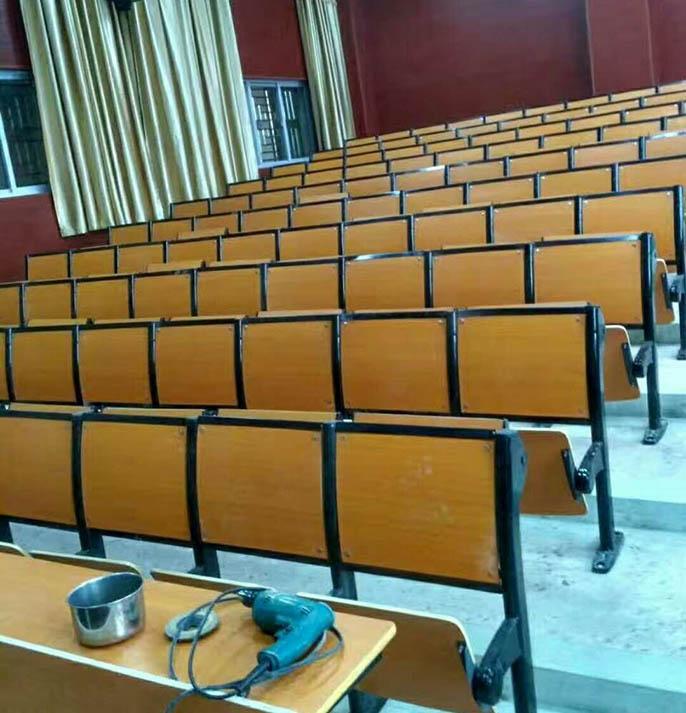甘肃阶梯教室单人课桌椅