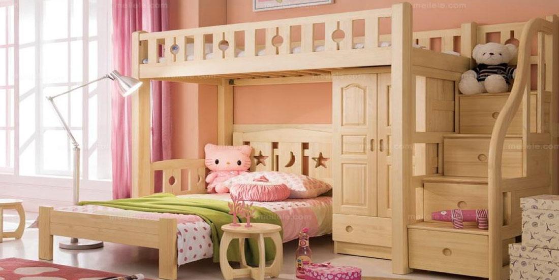 高低床帮您解决家里空间问题