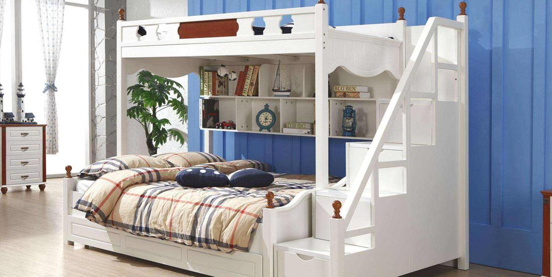 您家的儿童高低床找个舒服的位置