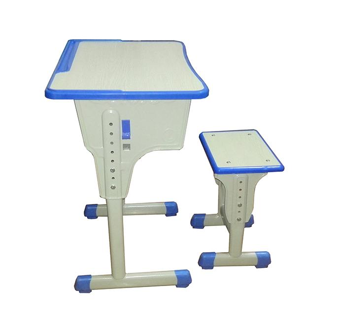 单人课桌椅型号HX-KZY-002